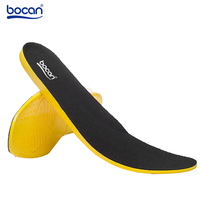 2015 Bocan New Arrival Shoes Insole For Men And Women PU Insoles Shock Absorption Protective Breathable