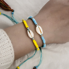 New Bohemia Shell Bracelet Adjustable Handmade Braided Jewelry Gift Fashion Cowrie For Women Beach Party