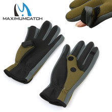 Maximumcatch Anti Slip Gloves Comfortable Fishing Gloves Outdoor Sports Slip resistant Fishing Gloves