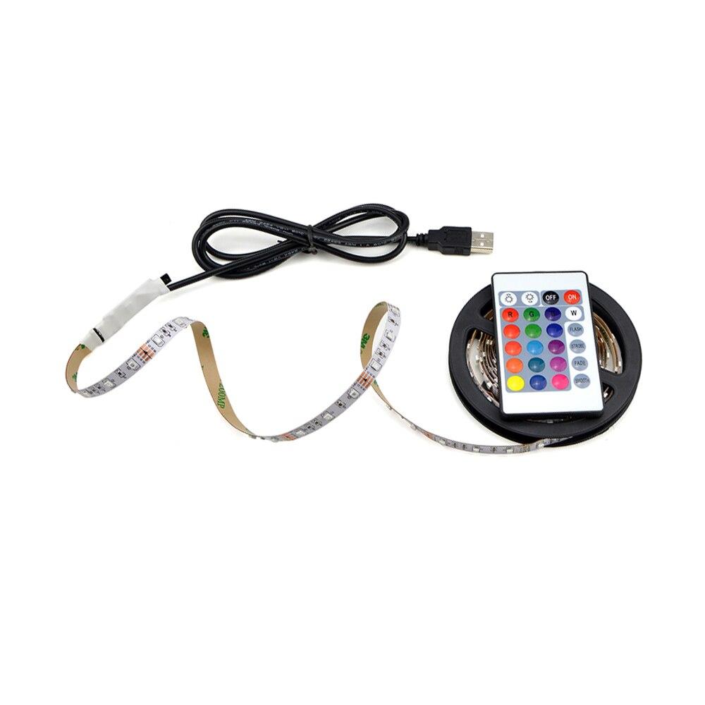 aliexpress com   buy ip20 not waterproof warm white rgb usb led strip light 5v 3528 smd diode