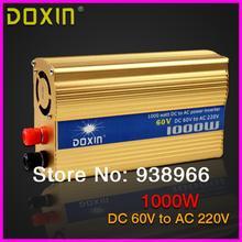 DC60V к AC220V 1000 Вт Автомобиля Инвертор Inversor Зарядное Преобразователь Напряжения Трансформатор Универсальный ST-N045