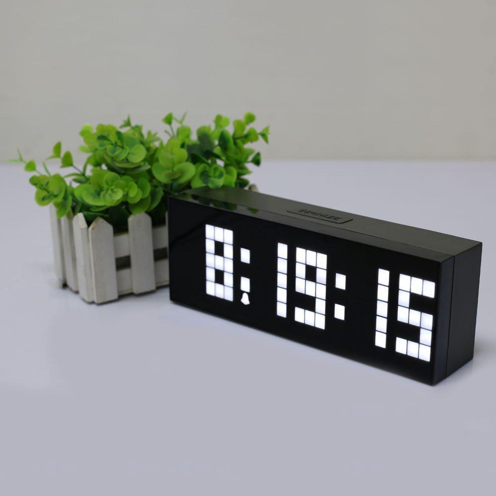 Jumbo LED Wecker Countdown Timer Wanduhr Home Decor Tischuhr Indoor - Wohnkultur - Foto 5