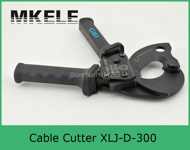 ФОТО MK-XLJ-D-300 Mechanical cable cutter,large cable cord cutters,cordless cable cutter