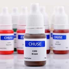 Original CHUSE Brand C292 Semi-permanent Makeup Tattoo Ink Pigment Micro Color for Eyebrow&Eyebrow Shaded Cosmetic Brown
