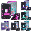 Shock Absorption Three Layer Armor Defender Full Body Protective Case For IPad Mini 4 Drop Shipping