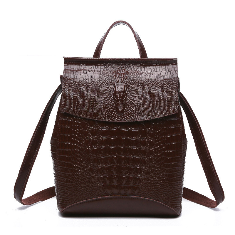 New Fashion Women's Backpack Women Genuine Leather Backpacks Vintage Luxury Designer Brand Backpack Female Bag Mochila Backpacks