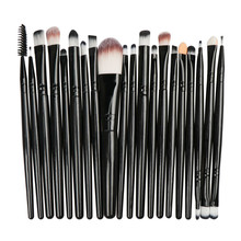 Anmor 20Pcs/lot Eyeshadow Makeup Brushes Professional Make Up Brush Foundation Set Blush Eyebrow Eye Shadow Powder Cosmetic Kit