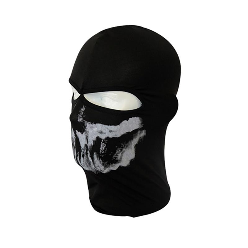 Outdoor Cap Skull Full Face Mask Balaclava Bike Motorcycle Cycling Sports Protect Headgear 6475 цена 2016