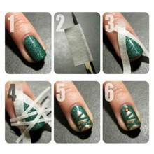 DIY Water Decal Nail Art Stickers