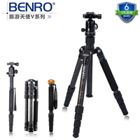 BENRO C2692TV1 Carbon Fiber Tripod With V1 Ball head Professional Video Camera Monopod Carrying Bag .Global free shipping