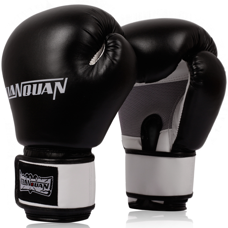 Profissional jogo de luvas luvas de boxe adulto Sanda Muay Thai boxe saco de areia de formação profissional grabbling