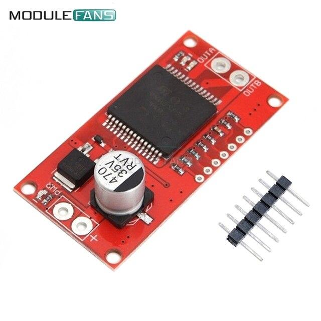 US $3 04 10% OFF VNH2SP30 Moto Shield Full Bridge Stepper Motor Driver  Module High Current 30A Drive Board For Arduino Replaced L298 H bridge-in