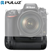 PULUZ Battery Grip For Nikon D750 Vertical Digital SLR Camera For Nikon MB-D16 Camera Battery Grip For Nikon 142.2*77.9*51.3mm bc 65 recharger battery for nikon surveying equipment nikon bc 65 battery pack
