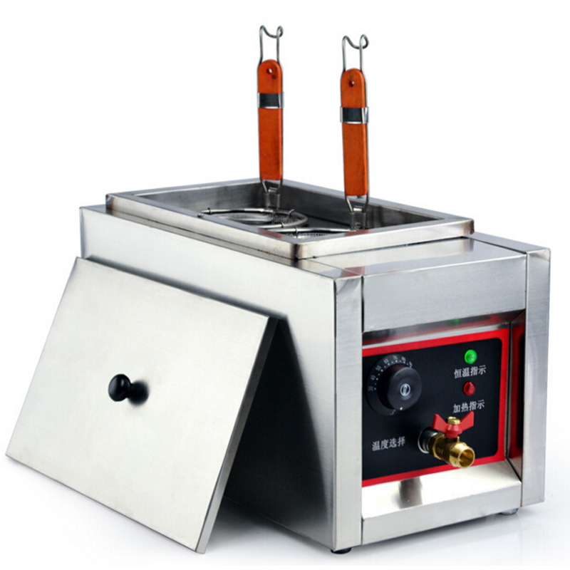 VOSOCO Commercial Electric Pasta cooker Electric Noodle machine 2000W stainless steel Pasta boiler cooker Electric heating furna vosoco commercial electric pasta cooker electric noodle machine 2000w stainless steel pasta boiler cooker electric heating furna