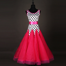 Standard Ballroom Dance Dress Performance Dancing Wear Lady's Gorgeous Tango Waltz Ballroom Competition Costume
