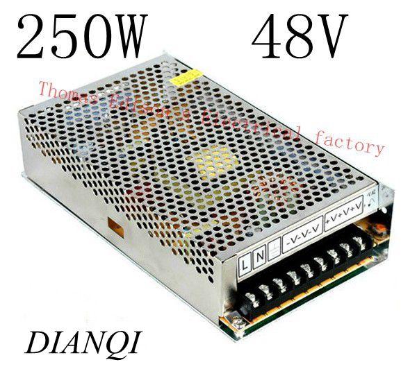 все цены на power supply 250w 48V 5A  power suply 48v 250w ac to dc power supply unit ac dc converter    S-250-48