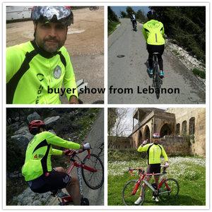 Image 4 - WOSAWE Autumn Cycling Jerseys Men Bicycle Sportswear Breathable Cycle Downhill MTB Reflective Long Sleeve Clothing Bike Shirts