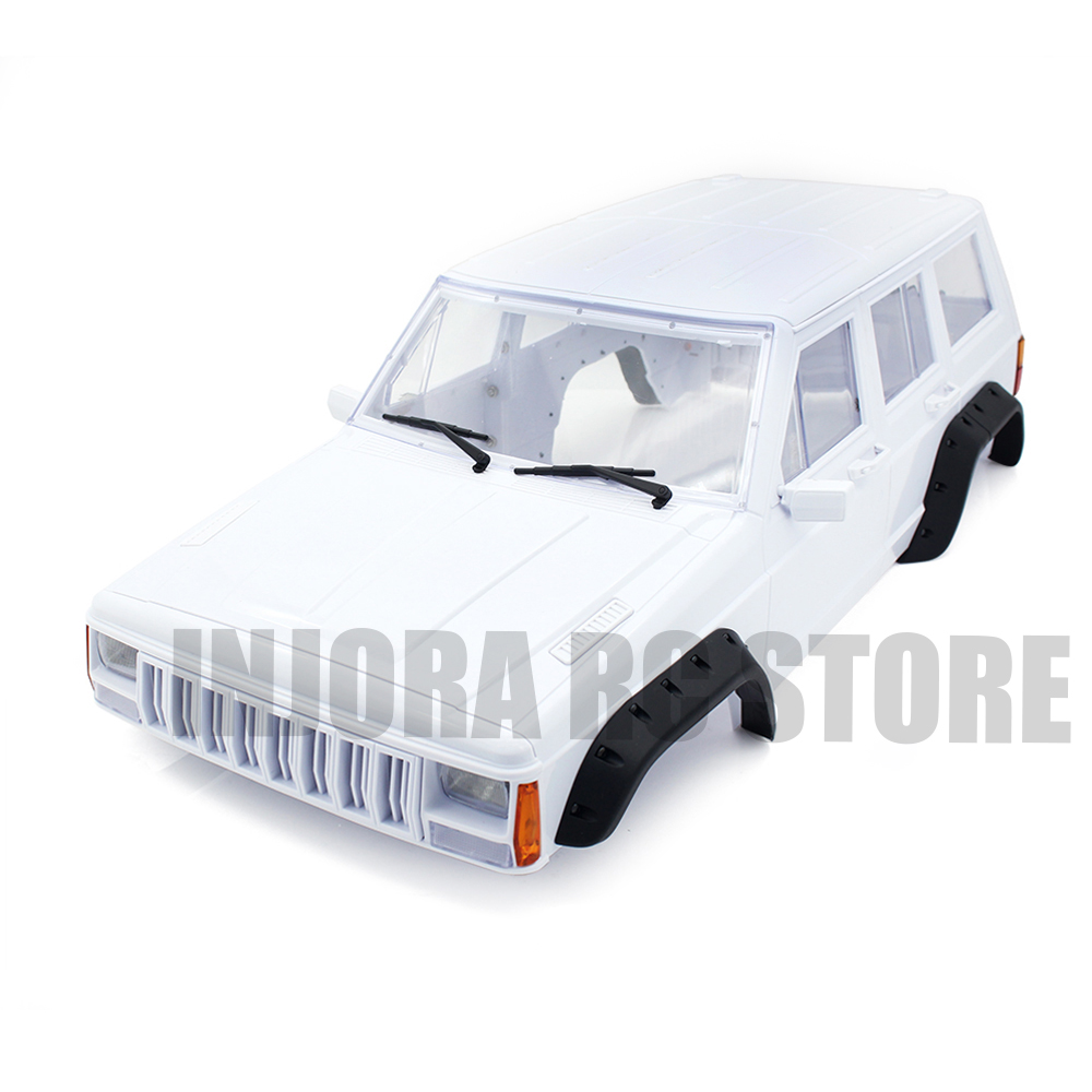 12.8inch 324mm Wheelbase Unassembled Cherokee Body Car Shell for 1/10 Scale RC Rock Crawler Traxxas TRX-4 yves rocher yves rocher бальзам ополаскиватель для восстановления с жожоба и миндалем