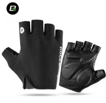 ROCKBROS Men Women Road MTB Bike Bicycle Gloves Half Finger Breathable Summer Cycling Glove Padded Equipment