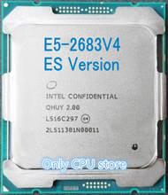 Original procesador Intel Xeon ES la versión QHUY/QHZE E5-2683V4 2,00 GHZ 16 núcleos 40MB E5-2683 V4 E5 2683 V4 LGA2011-3 E5 2683V4