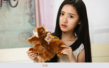 about 18cm lovely brown squirrel plush toy soft doll high quality baby toy birthday gift,Xmas gift c800