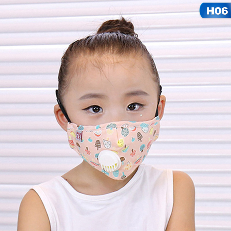 Hearty Cartoon 3-10 Year Old Kids Mask Pm2.5 Anti Haze Cotton Mask Breath Valve Anti-dust Mouth Mask Activated Carbon Filter Respirator Masks Back To Search Resultsbeauty & Health