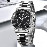 PAGANI Top Luxury Brand Ceramic Watch Women Fashion Simple Waterproof Quartz Watch Lady Elegant Business Clock Women Dress Watch