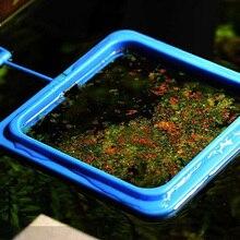 Square/Circle Aquarium Floating Food Tary Feeder