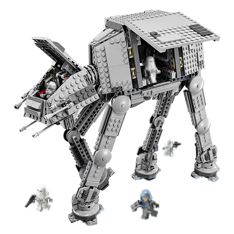 Building Blocks Star Wars 05050 05051 Force Awaken AT-AT Transpotation Armored Robot Compatible 75054 Toys Bricks Lepin Star War lepin star war force 05032 1022pcs captain rex s at te 75157 building blocks compatible legoingly with star wars boys toys gift
