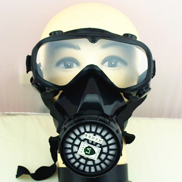 Windproof Self-priming Gas Mask Anti-dust Paint Chemical Masks Filter respirators Protective Masks  Fire Escape Breathing Sets