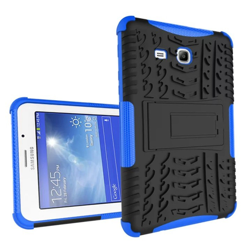 Heavy Duty For Samsung Tab 3 Lite T110 Case Armor Pc Tpu Shockproof Cover Galaxy 7 0 T111 In Tablets E Books