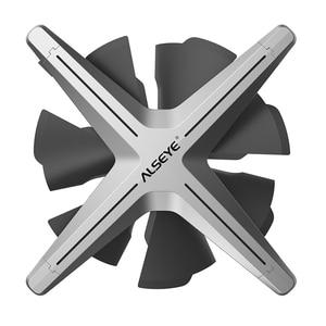 ALSEYE X12 вентилятор кулер RGB 3шт задавать Пульт дистанционного управления Совместим с Rus Control материнской платы Asus Gigabyte Msi