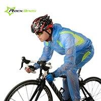 ROCKBROS Waterproof Cycling Clothing Men Women Sports Raincoat Bicycle Jacket Sets Waterproof Mtb Bike Cycling Jersey