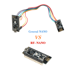 Image 3 - Keywish RF Nano per Arduino Nano V3.0, micro USB Nano Bordo di ATmega328P QFN32 5V 16M CH340, Integrare NRF24l01 + 2.4G wireless