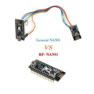 Image 3 - نانو V3.0 مع NRF24l01 + ، المصغّر usb ، ATmega328P ، 2.4G اللاسلكية لاردوينو QFN32 5V CH340 برنامج تشغيل USB نانو مجلس مع بووتلوأدر