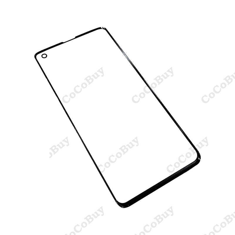 מקורי Samsung Galaxy S10 S10 + בתוספת S10E S10 5G LCD תצוגה חיצונית מגע פנל מסך החלפת זכוכית קדמי זכוכית עדשה + + +