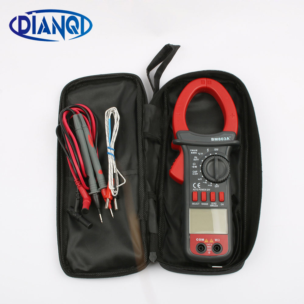 BM803A BM803 Digital AC-DC 1000A Clamp Meter digital multimeter 1000V Temperature 1000