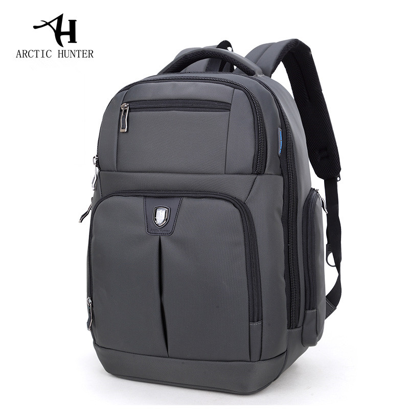 ARCTIC HUNTER Backpack Men bag casual Business Travel laptop backpacks Waterproof Nylon Back pack male mochila arctic hunter design backpacks men 15 6inch laptop anti theft backpack waterproof bag casual business travel school back pack