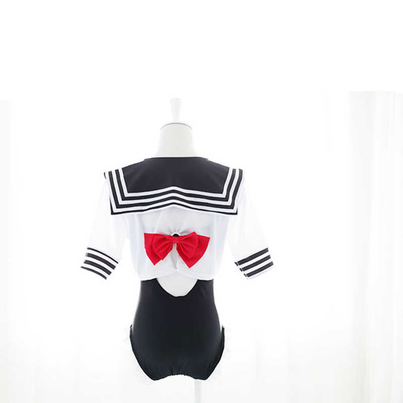 9032243a1c94c ... Japanese School Girls Swimming Wear Cute Sailor Style Swimsuit Summer Swimming  Suit for Girl Kawaii Cosplay ...