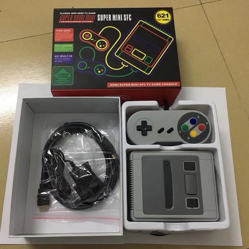 Unterhaltungselektronik Videospiele 621 Spiele Kindheit Retro Mini Klassische 4 K Tv Hdmi 8 Bit Video Spielkonsole Handheld Gaming Player Mit Einzelhandel Box 10 Teile/los