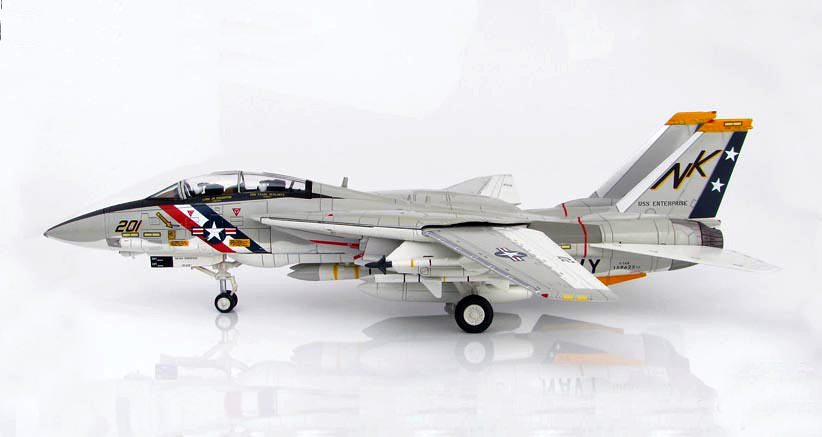 Fine HM 1/72 F-14A Tomcat fighter model VF-2 Bounty Hunter Squadron HA5210 Alloy collection model Holiday gifts запчасть rubena r12 tomcat 29 x 2 10