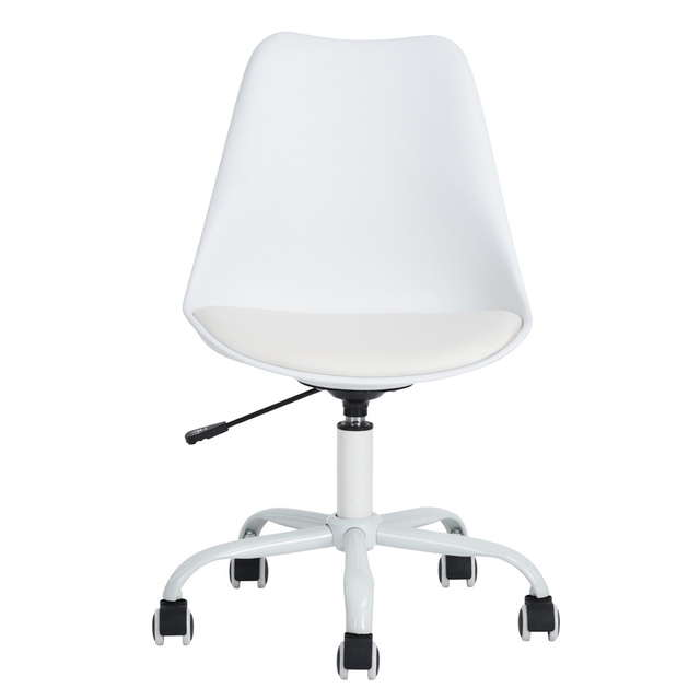 EGGREE Mid Back Home Office Desk Chair Modern Adjustable Plastic Executive  Conference Chair For Office