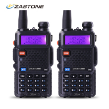 Zastone Walkie Talkie Pair V8 Dual Band VHF UHF 2 Way Radio Communicator HF Transceiver Portable Radio Set same as baofeng uv5r
