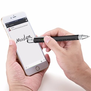 Image 2 - 50 個多機能ボールペンレベル定規ドライバー文具ペン良い商品は安くはない青
