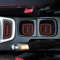 Para Suzuki Vitara 2016 Sulco Porta Mat Ranhura Porta Do Carro Montanha Russa de Água almofada De Borracha Não-Slip Mats Silicone Etiqueta Do Carro Acessório 2015