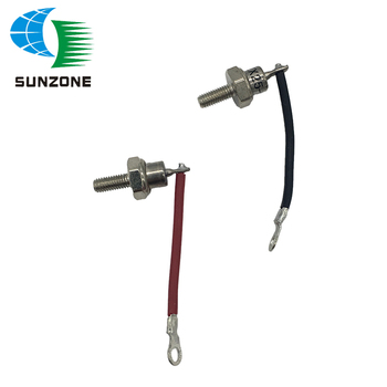 2PCS Diode 25A Male and Female Diode For Generator Rectifier Diode ZX25-12 25A With Wires Rectifier Bolt Diode Rectifier bolt type zp300a 1000v spiral defence of the diode rectifier thyristor