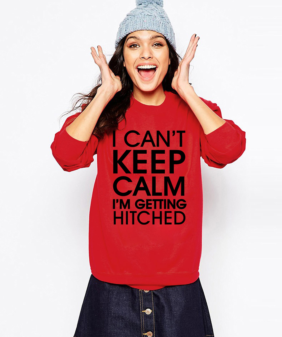 2016 funny print I Cant Keep Calm Im Getting Hitched women kawaii fashion hoodies autumn harajuku sweatshirt brand suit female