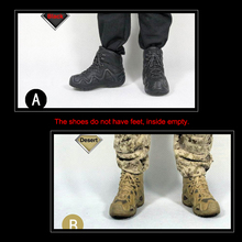ZYTOYS LOWA ZEPHYR Tactical Combat Boots Shoes Spot 1/6 Scale No Feet Model F 12 Inch Soldier Action Figure Military Accessories