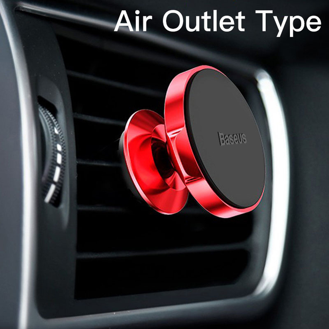Red Air Vent