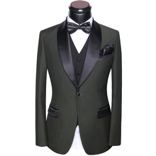 Mens Suits Wedding 2017 Latest Coat Pants And Vest Designs Slim Fit Round Collar Prom Party Suits Dress Gray White Blue Black